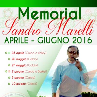 Torneo Sandro Marelli 2016 – Calcio