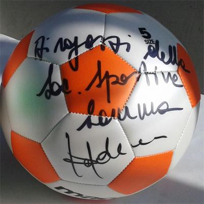 Vinci il pallone della Samma autografato da Mister Trapattoni