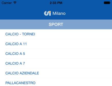 Scarica l'App del CSI Milano per consultare i risultati delle squadre della Samma