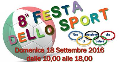 La Samma sarà presente alla Festa dello Sport 2016 di Cusano Milanino