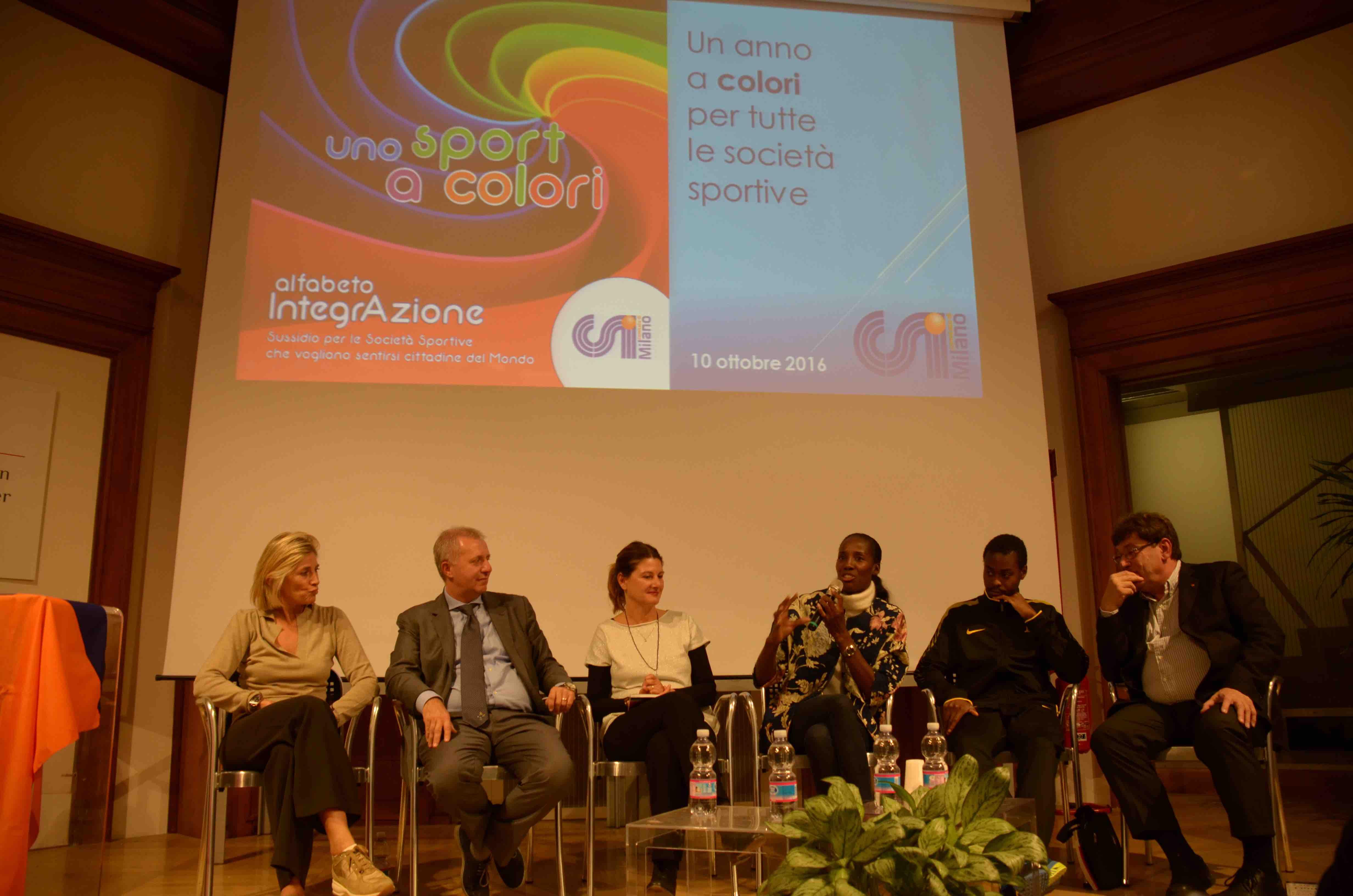 """Scaricate il sussidio """"Uno sport a colori"""" dal CSI Milano"""