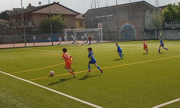 Calcio Under 9 – Esordio scoppiettante