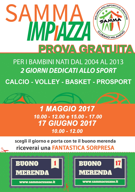 Open Day – 1 Maggio e 2 Giugno 2017