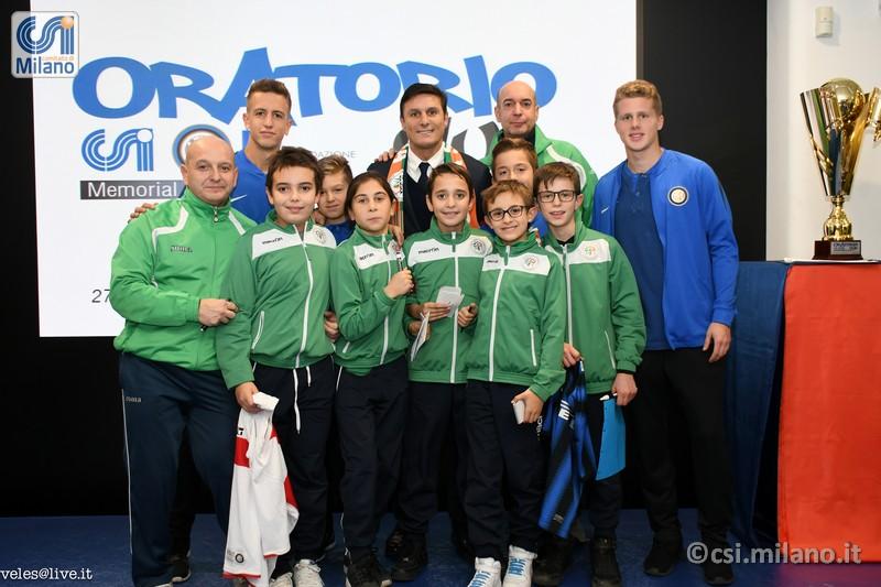 CSI Oratorio Cup: Javier Zanetti ha presentato la 13a edizione… e la Samma c'era !!!